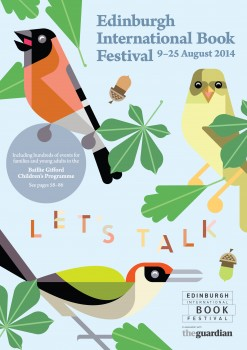 Edinburgh International Book Festival 2014 Brochure Cover